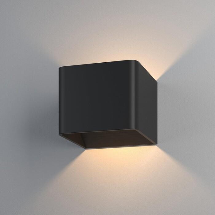 Светильник Elektrostandard Настенный светодиодный Corudo Led черный MRL 1060 4690389168062