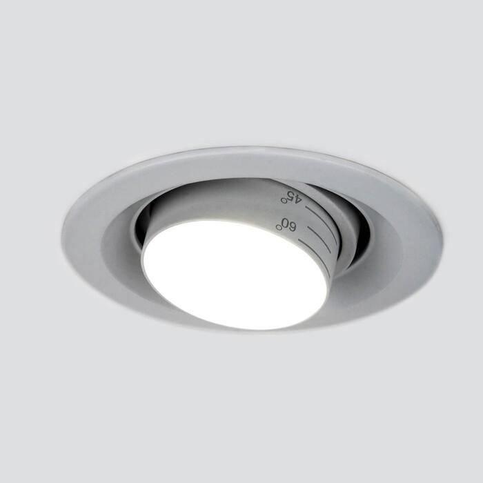 Светильник Elektrostandard Встраиваемый светодиодный 9920 LED 15W 4200K серебро 4690389162909
