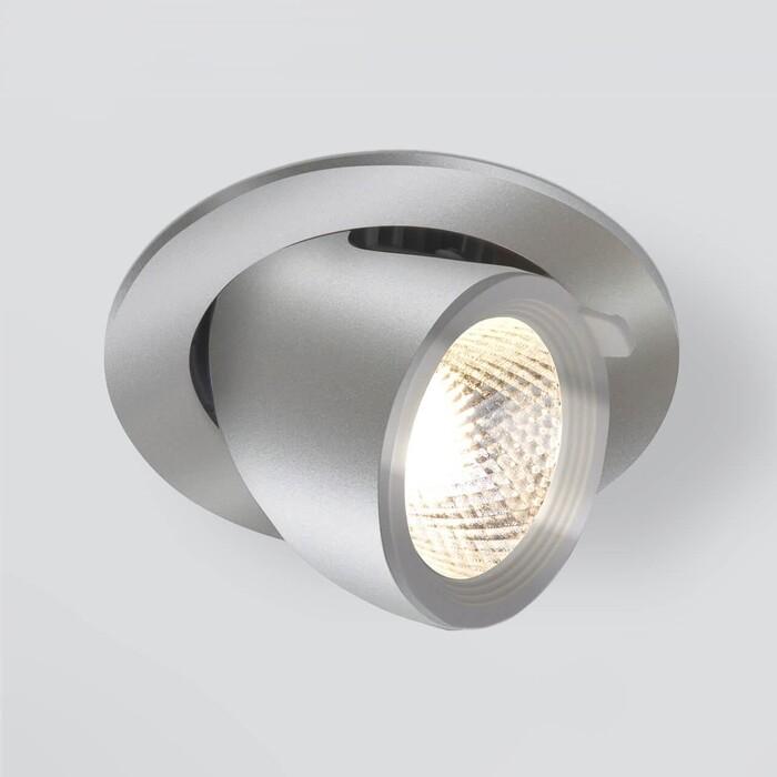 Светильник Elektrostandard Встраиваемый светодиодный 9918 LED 9W 4200K серебро 4690389162435