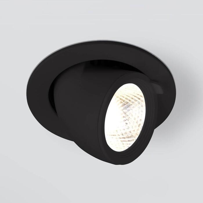 Светильник Elektrostandard Встраиваемый светодиодный 9918 LED 9W 4200K черный 4690389162428