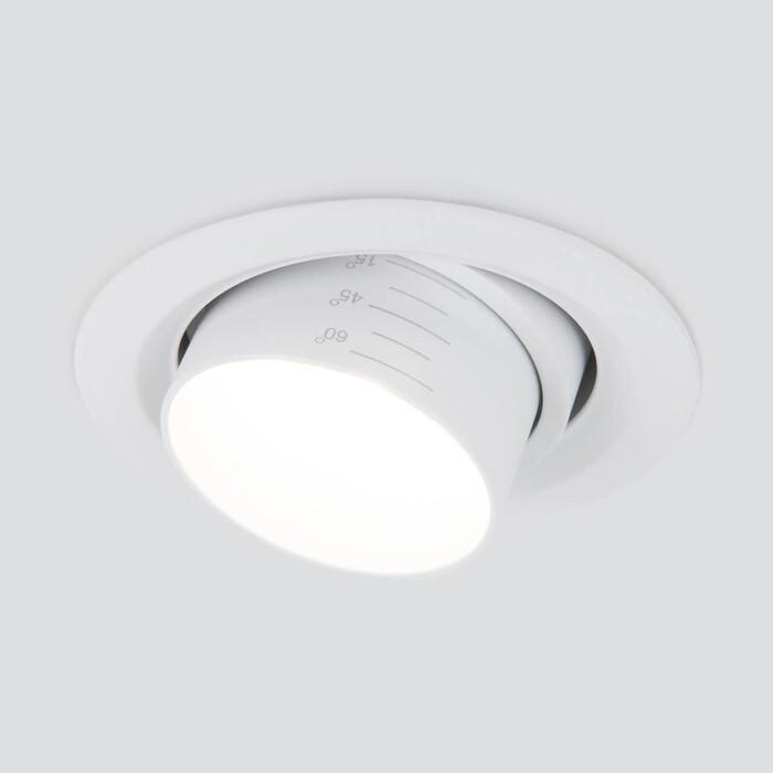 Фото - Светильник Elektrostandard Встраиваемый светодиодный 9920 LED 15W 4200K белый 4690389162718 светильник elektrostandard встраиваемый светодиодный 9919 led 10w 4200k серебро 4690389162459