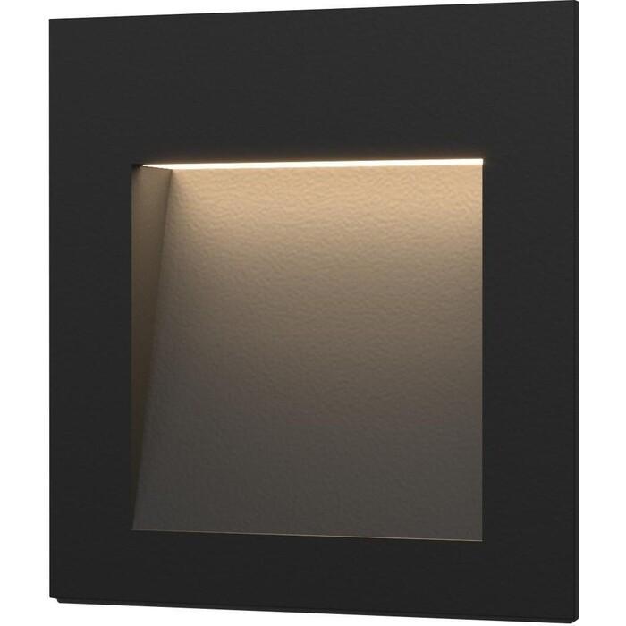 Светильник Elektrostandard Встраиваемый светодиодный MRL LED 1103 черный 4690389091292 светильник elektrostandard встраиваемый светодиодный mrl led 1102 белый 4690389091209