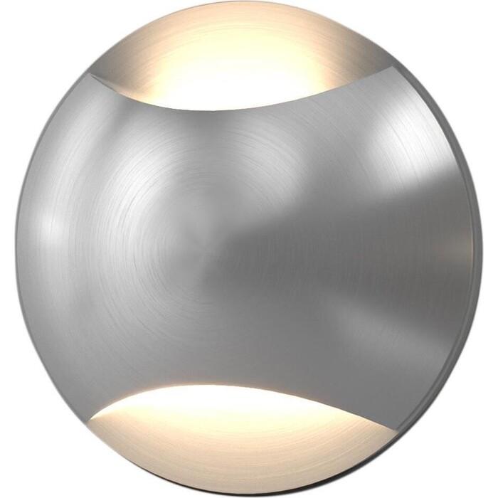 Светильник Elektrostandard Встраиваемый светодиодный MRL LED 1105 алюминий 4690389153266 светильник elektrostandard встраиваемый светодиодный mrl led 1102 белый 4690389091209