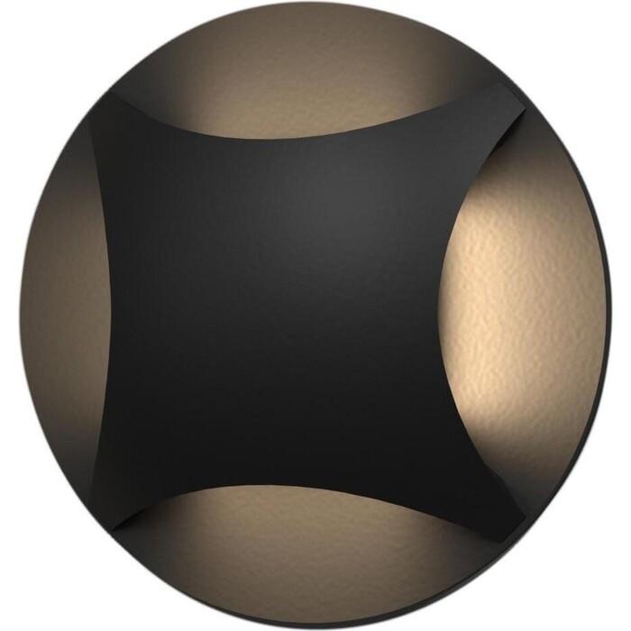 Светильник Elektrostandard Встраиваемый светодиодный MRL LED 1106 черный 4690389094255 светильник elektrostandard встраиваемый светодиодный mrl led 1102 белый 4690389091209