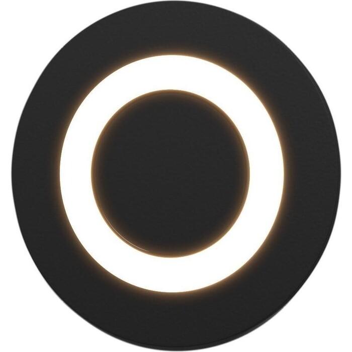 Светильник Elektrostandard Встраиваемый светодиодный MRL LED 1107 черный 4690389098130 светильник elektrostandard встраиваемый светодиодный mrl led 1102 белый 4690389091209