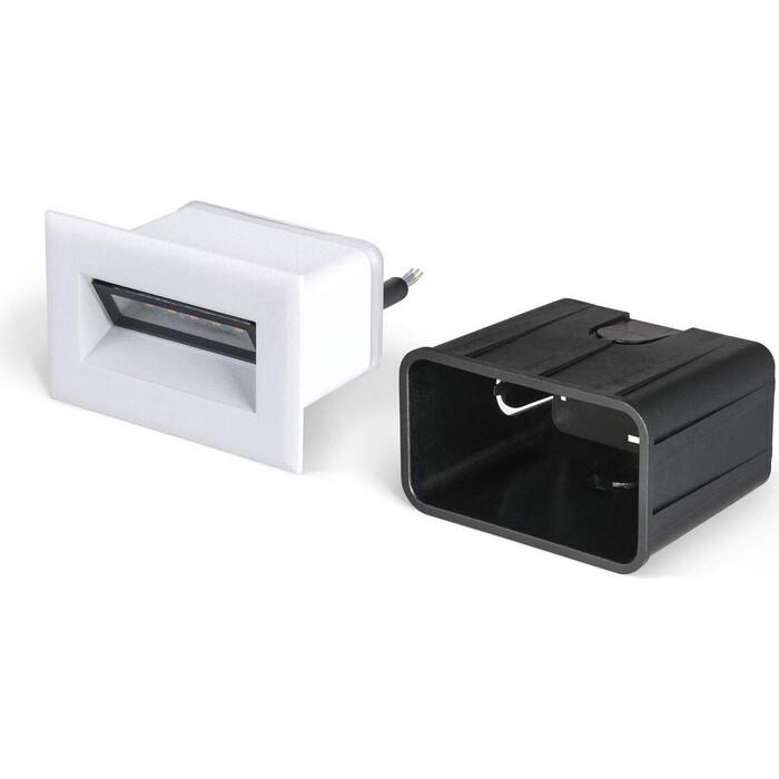Светильник Elektrostandard Встраиваемый светодиодный MRL LED 1109 черный 4690389099083 светильник elektrostandard встраиваемый светодиодный mrl led 1102 белый 4690389091209