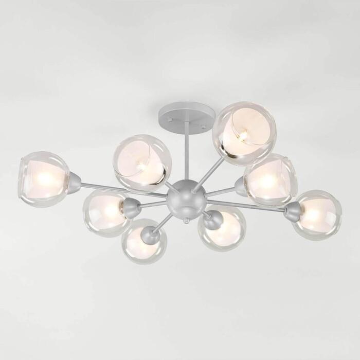 Люстра Eurosvet Потолочная Vivien 30163/8 серебро