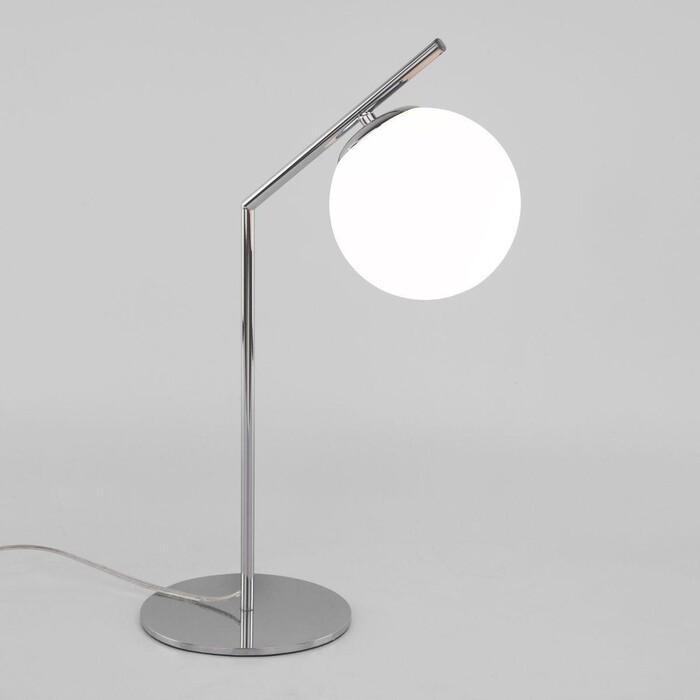 Настольная лампа Eurosvet Frost 01082/1 хром