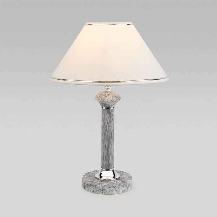 Настольная лампа Eurosvet Lorenzo 60019/1 мрамор настольная лампа eurosvet 60019 1 глянцевый белый 40 вт