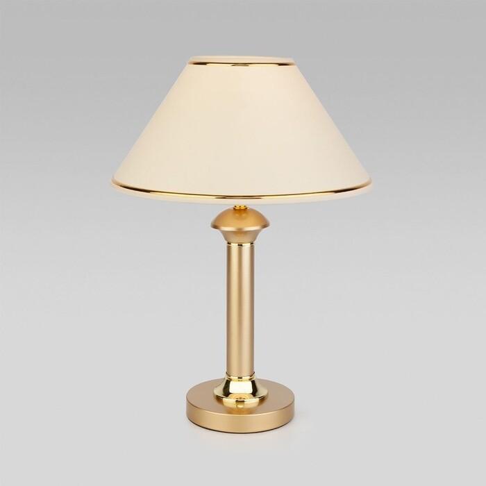 Настольная лампа Eurosvet Lorenzo 60019/1 перламутровое золото настольная лампа eurosvet 60019 1 глянцевый белый 40 вт