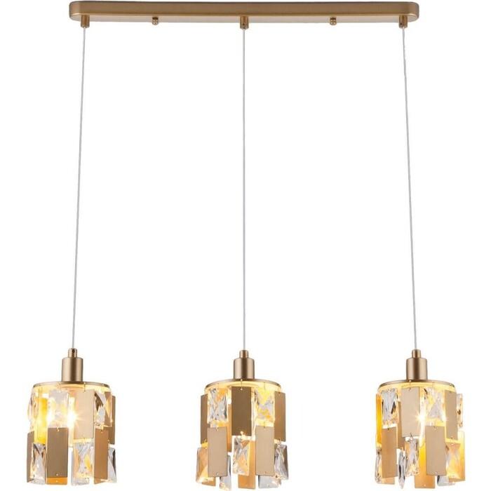 Светильник Eurosvet Подвесной 50101/3 перламутровое золото