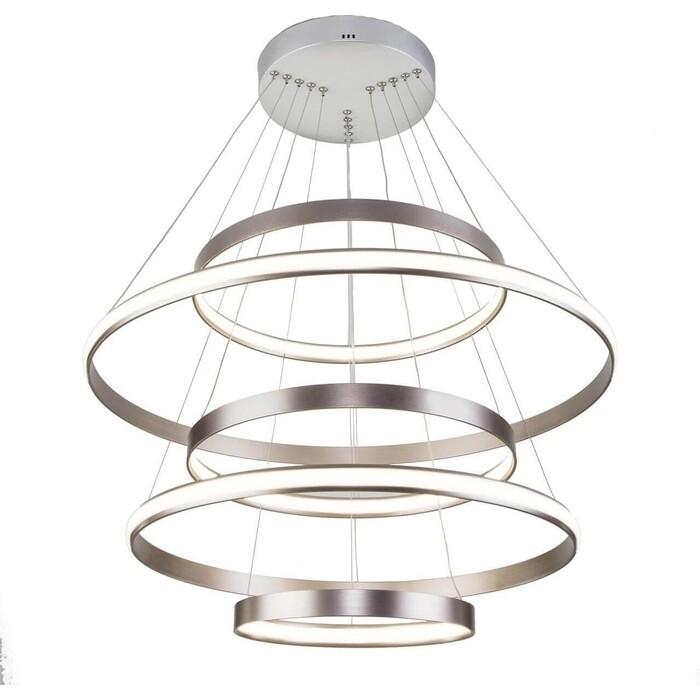 Фото - Светильник Eurosvet Подвесной 90179/5 сатин-никель светильник eurosvet потолочный светодиодный 90177 3 сатин никель