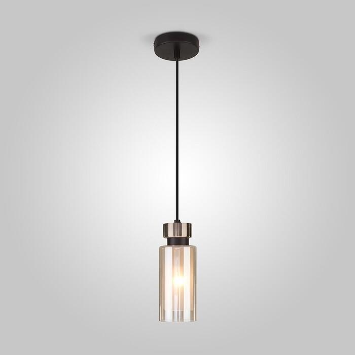 Светильник Eurosvet Подвесной Amado 50115/1 черный светильник подвесной divinare 1341 02 lm 10