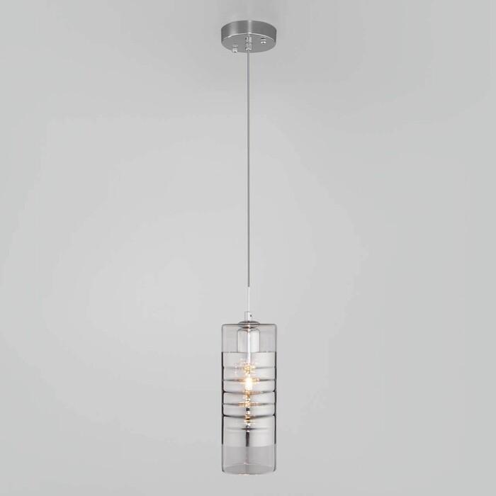 Светильник Eurosvet Подвесной Block 50185/1 хром