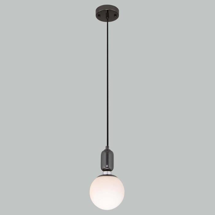 Светильник Eurosvet Подвесной Bubble 50151/1 черный жемчуг