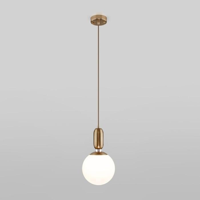 Светильник Eurosvet Подвесной Bubble 50197/1 латунь