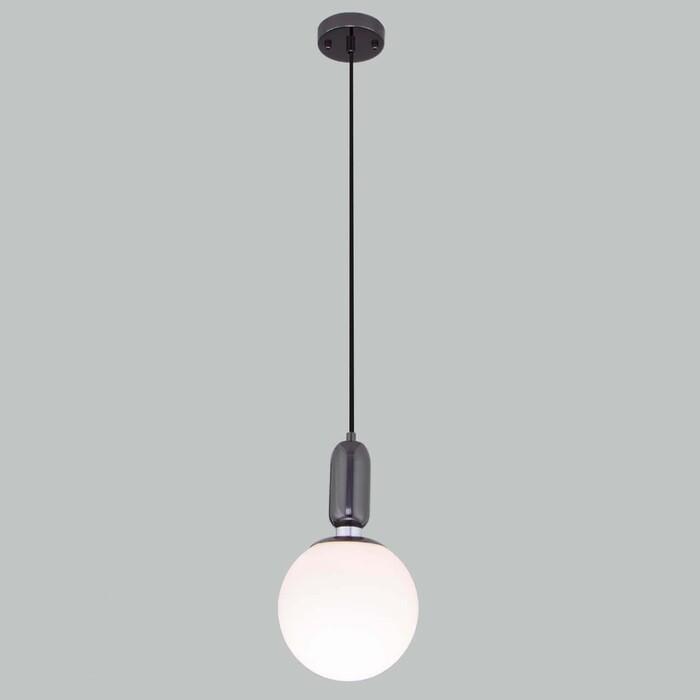 Светильник Eurosvet Подвесной Bubble 50197/1 черный жемчуг