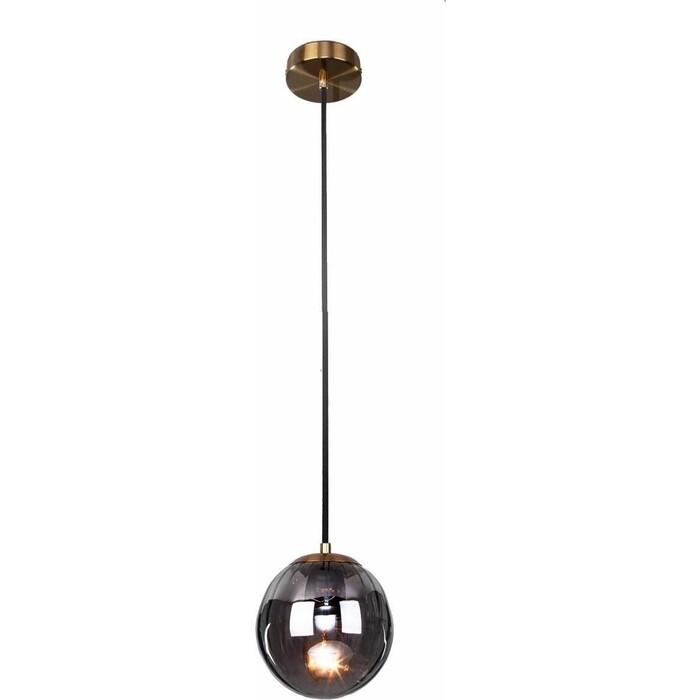 Светильник Eurosvet Подвесной Juno 50207/1 дымчатый