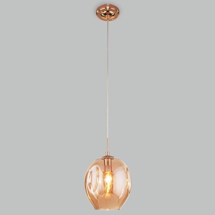 Светильник Eurosvet Подвесной Mill 50195/1 золото