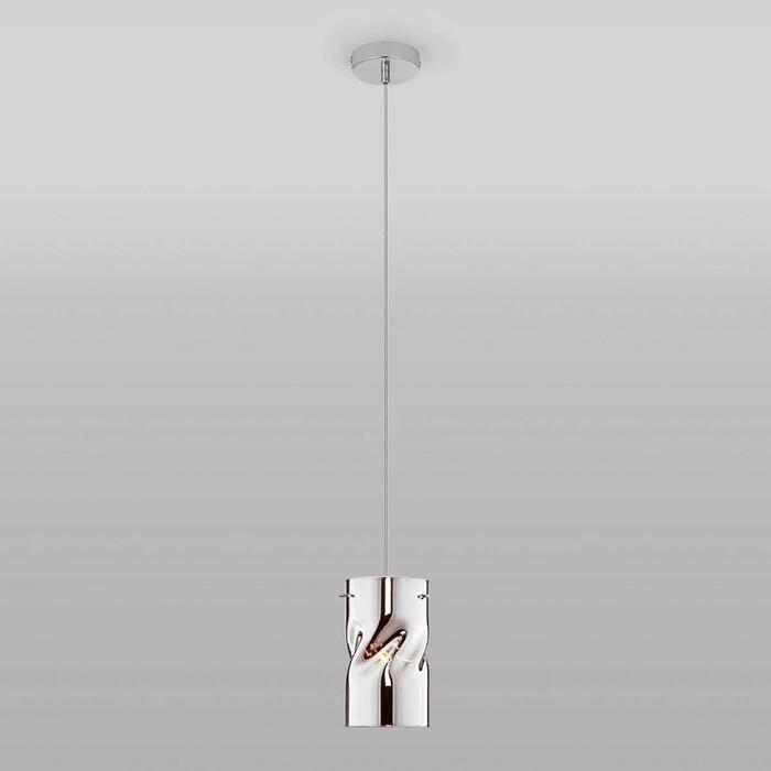 Светильник Eurosvet Подвесной Spin 50184/1 хром