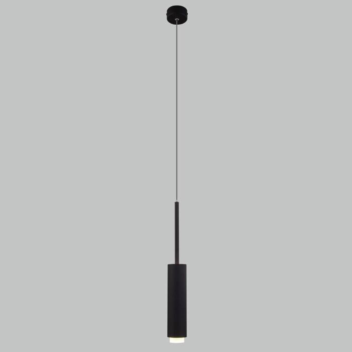 Светильник Eurosvet Подвесной светодиодный Dante 50203/1 черный