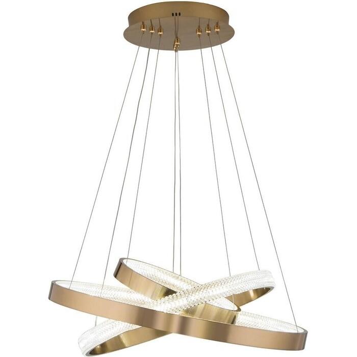 Светильник Eurosvet Подвесной светодиодный Smart Posh 90276/3 медный