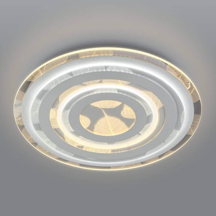 Светильник Eurosvet Потолочный светодиодный Floris 90220/1 белый