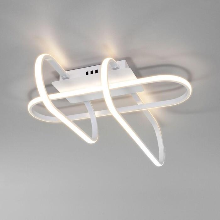 Светильник Eurosvet Потолочный светодиодный Grafette 90139/3 белый