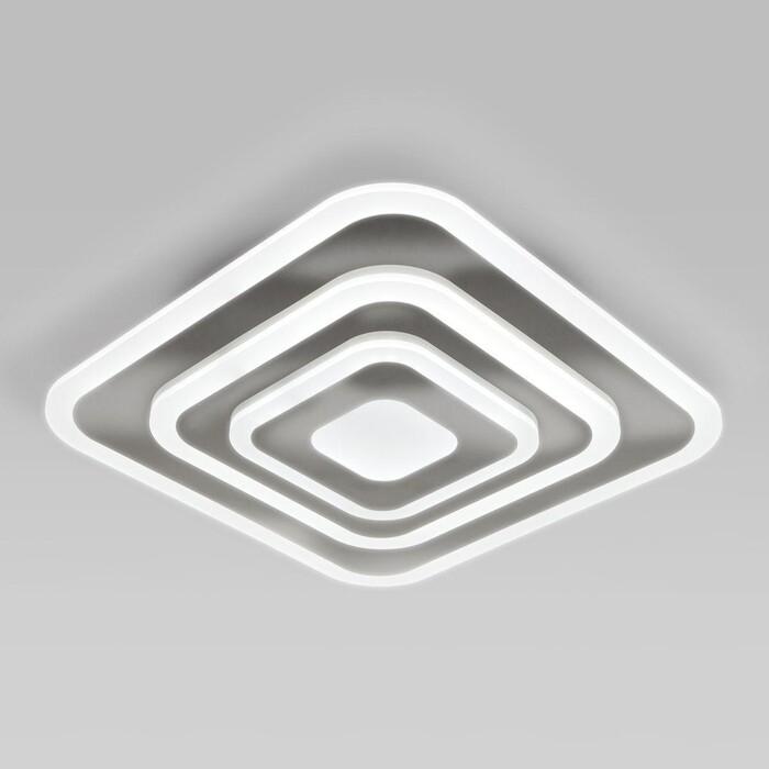 Светильник Eurosvet Потолочный светодиодный Siluet 90118/1 хром потолочный светильник eurosvet 40065 2 хром