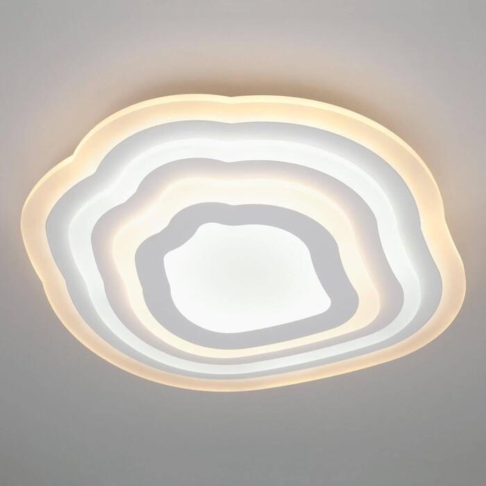 Светильник Eurosvet Потолочный светодиодный Siluet 90119/4 белый