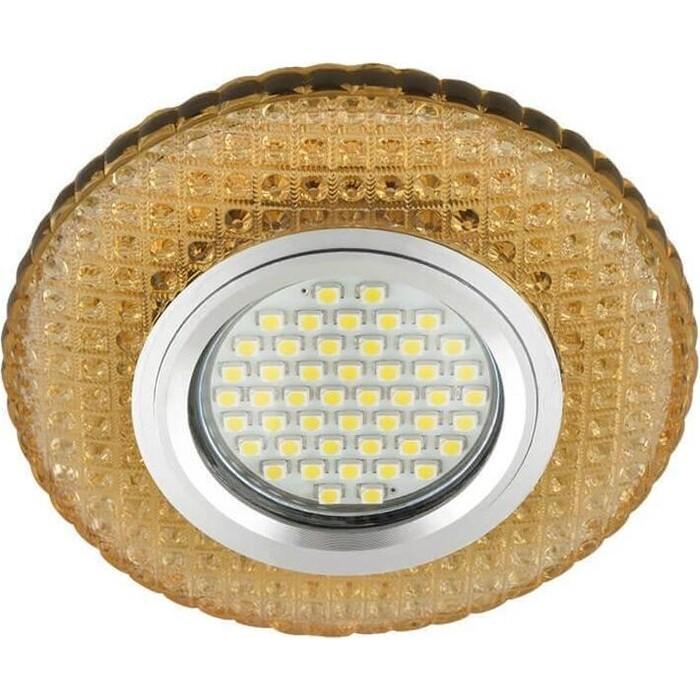Фото - Светильник Fametto Встраиваемый Luciole DLS-L135 Gu5.3 Glassy/Gold светильник fametto встраиваемый luciole dls l149 gu5 3 glassy light gold