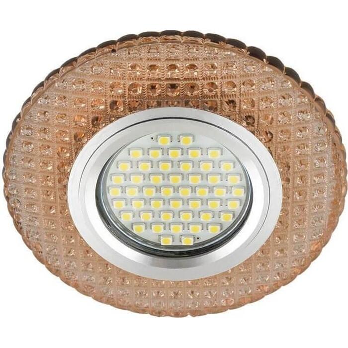 Фото - Светильник Fametto Встраиваемый Luciole DLS-L135 Gu5.3 Glassy/Light Tea светильник fametto встраиваемый luciole dls l149 gu5 3 glassy light gold
