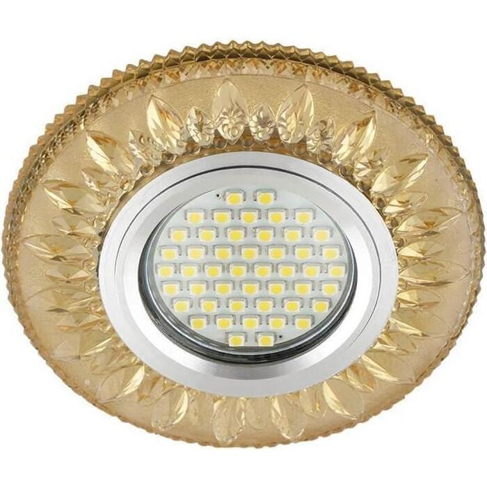 Фото - Светильник Fametto Встраиваемый Luciole DLS-L141 Gu5.3 Glassy/Gold светильник fametto встраиваемый luciole dls l149 gu5 3 glassy light gold