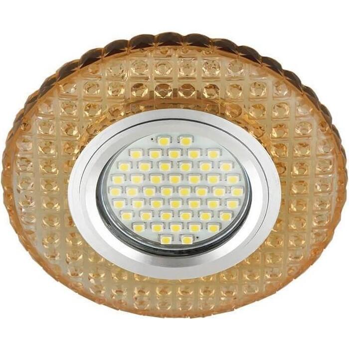 Фото - Светильник Fametto Встраиваемый Luciole DLS-L143 Gu5.3 Glassy/Gold светильник fametto встраиваемый luciole dls l149 gu5 3 glassy light gold
