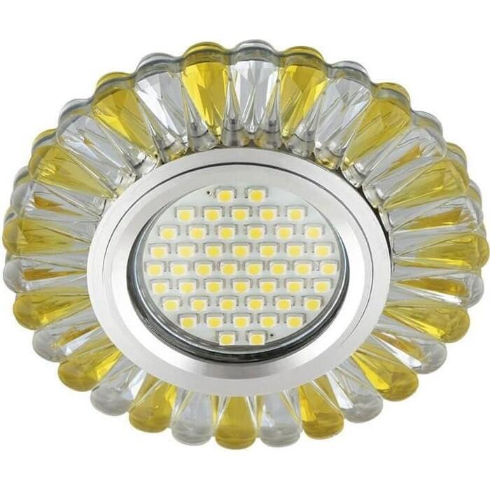 Фото - Светильник Fametto Встраиваемый Luciole DLS-L145 Gu5.3 Glassy/Gold светильник fametto встраиваемый luciole dls l149 gu5 3 glassy light gold