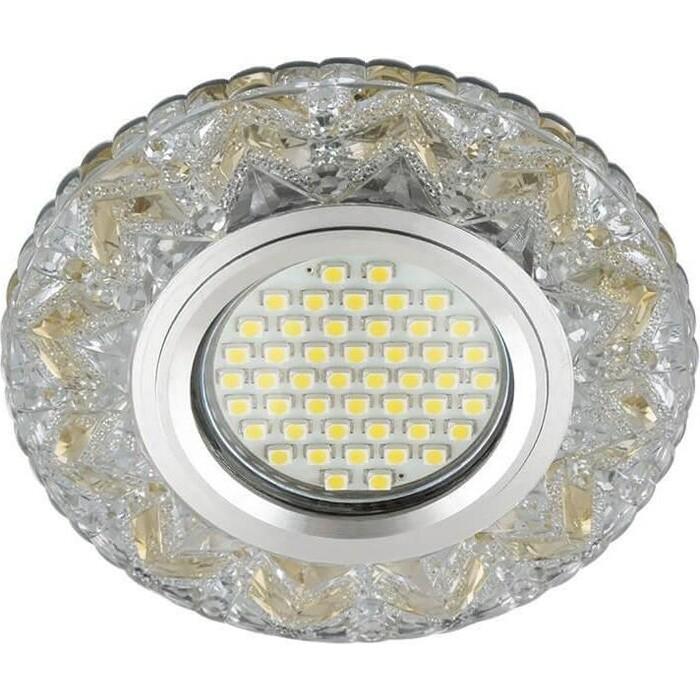 Фото - Светильник Fametto Встраиваемый Luciole DLS-L146 Gu5.3 Glassy/Gold светильник fametto встраиваемый luciole dls l149 gu5 3 glassy light gold