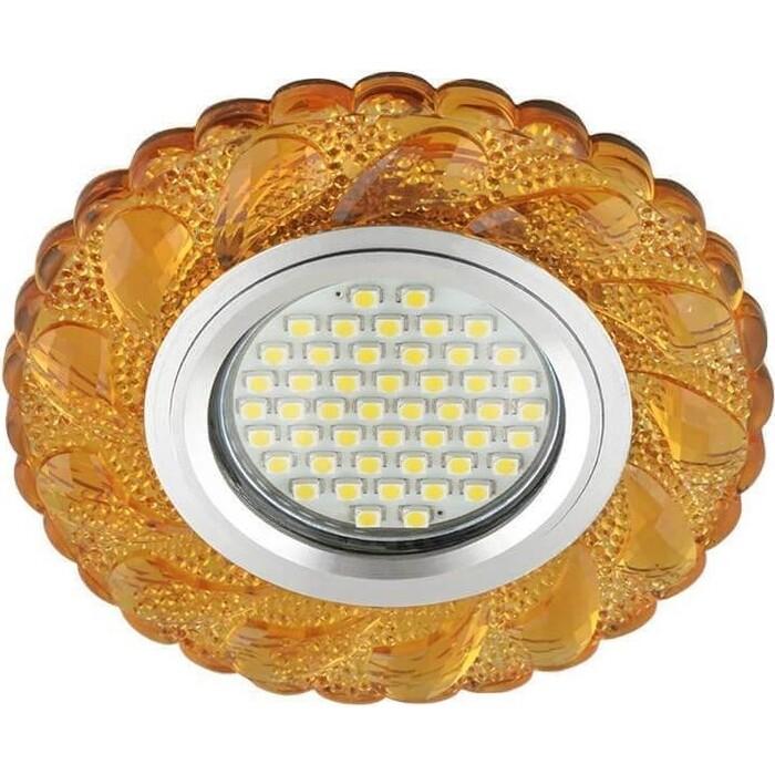 Фото - Светильник Fametto Встраиваемый Luciole DLS-L147 Gu5.3 Glassy/Gold светильник fametto встраиваемый luciole dls l149 gu5 3 glassy light gold