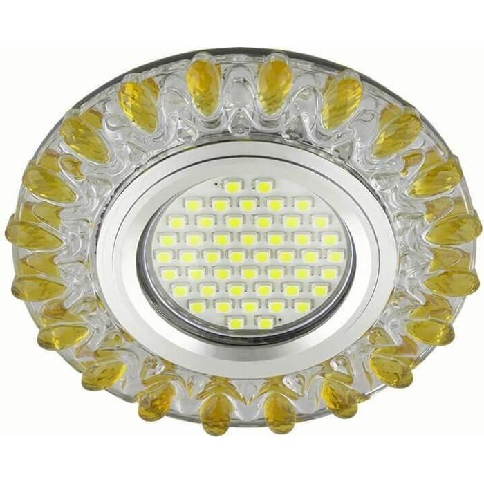 Фото - Светильник Fametto Встраиваемый Luciole DLS-L148 Gu5.3 Glassy/Gold светильник fametto встраиваемый luciole dls l149 gu5 3 glassy light gold