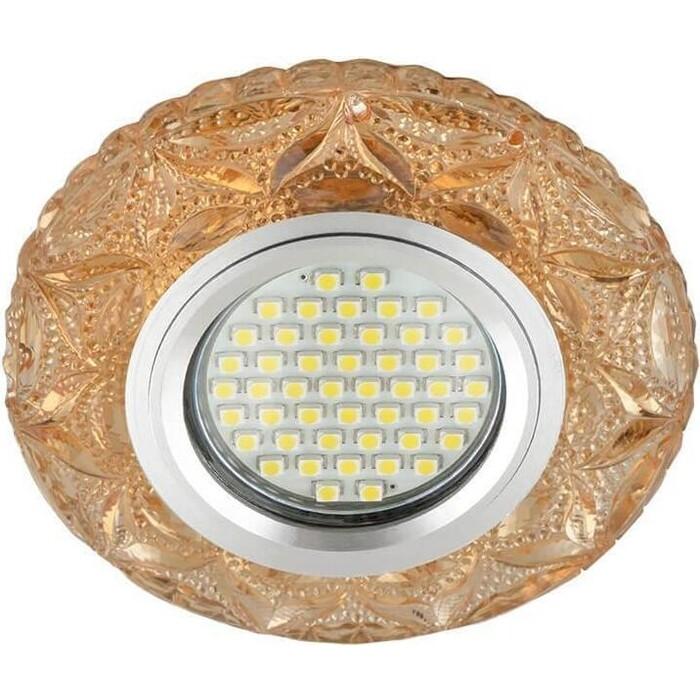Фото - Светильник Fametto Встраиваемый Luciole DLS-L149 Gu5.3 Glassy/Tea светильник fametto встраиваемый luciole dls l149 gu5 3 glassy light gold