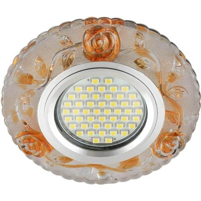 Фото - Светильник Fametto Встраиваемый Luciole DLS-L150 Gu5.3 Glassy/Gold светильник fametto встраиваемый luciole dls l149 gu5 3 glassy light gold
