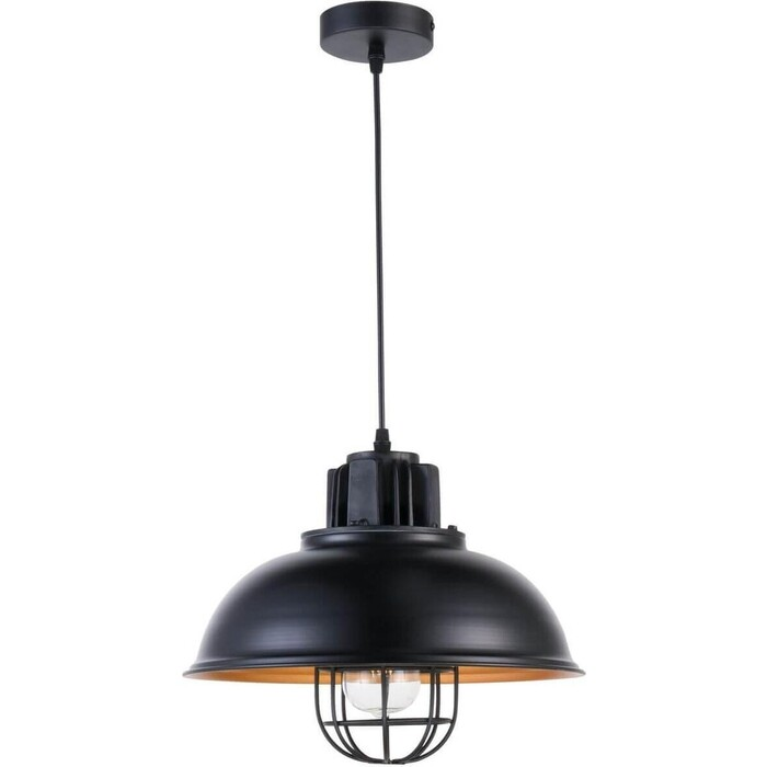 Светильник Fametto Подвесной Vintage DLC-V304 E27 Black светильник fametto подвесной galassia dlc g431 1008
