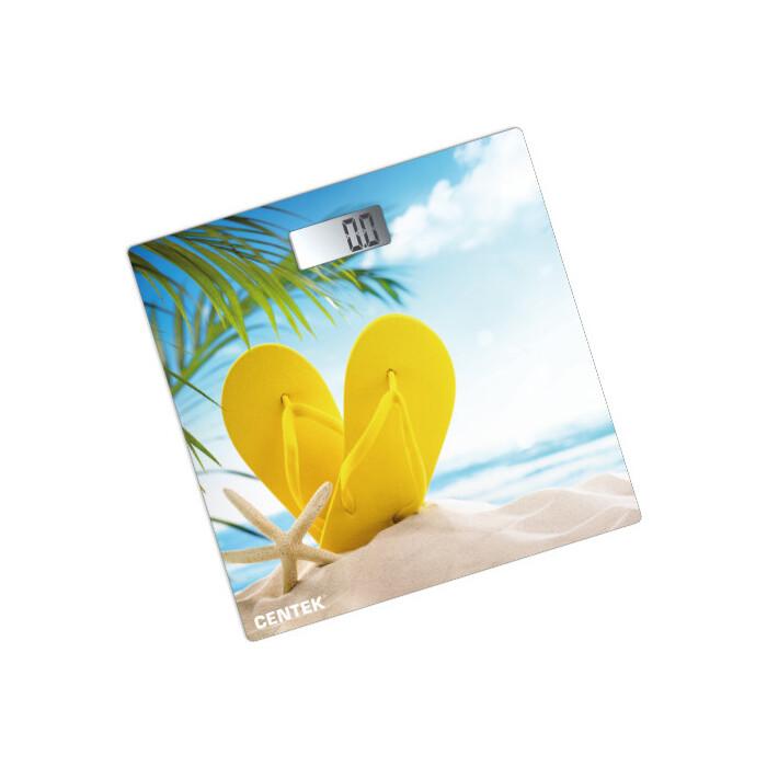 Весы напольные Centek CT-2426 пляж