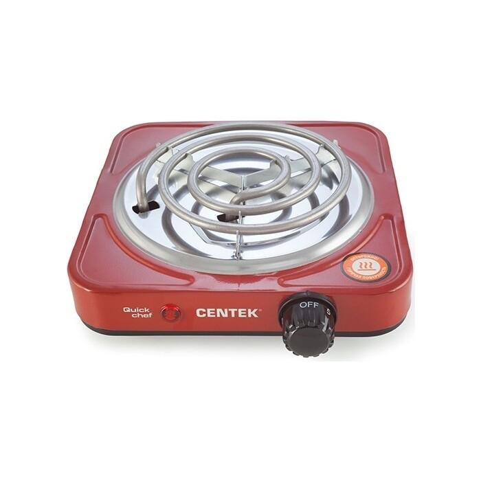 Настольная плита Centek CT-1508 красный электрическая плита centek ct 1509