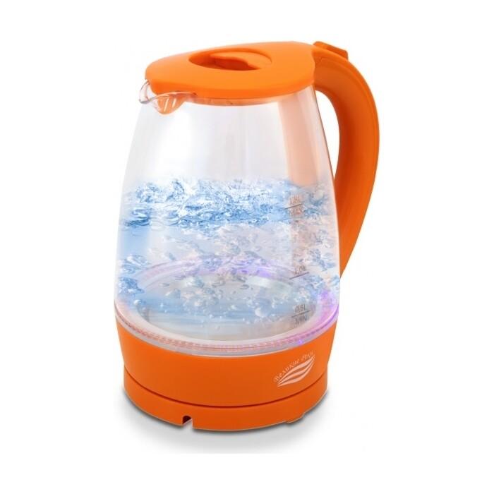 Чайник электрический Великие реки Дон-1 оранжевый