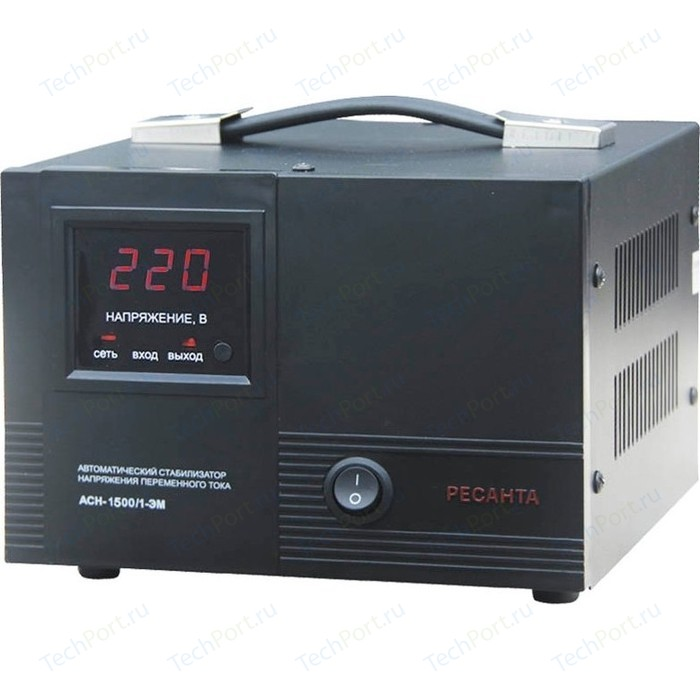 Стабилизатор напряжения Ресанта АСН-1 500/1-ЭМ