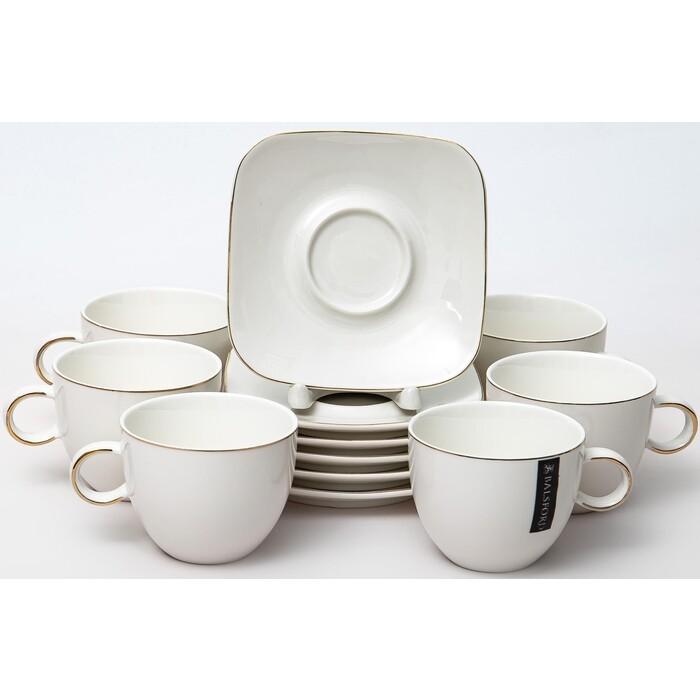 Набор чайных пар 12 предметов Balsford ГРАЦИЯ ХАМА 230 мл (101-01072)