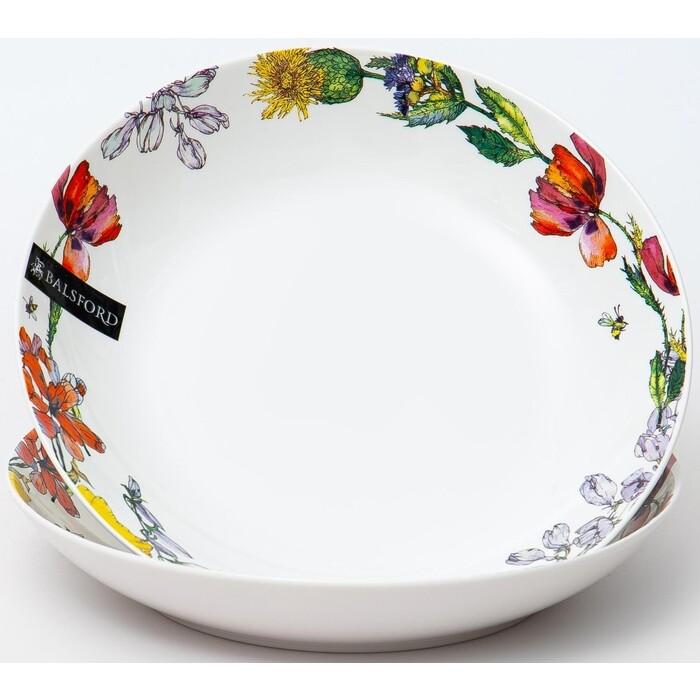 Набор глубоких тарелок Balsford ПОЛЕВЫЕ ЦВЕТЫ (169-40004)