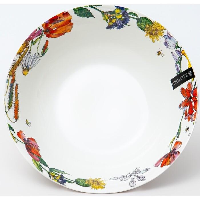 Салатник Balsford ПОЛЕВЫЕ ЦВЕТЫ 1200 мл 23 см (169-40006) набор тарелок balsford полевые цветы 550 мл 2 предмета арт 169 40004
