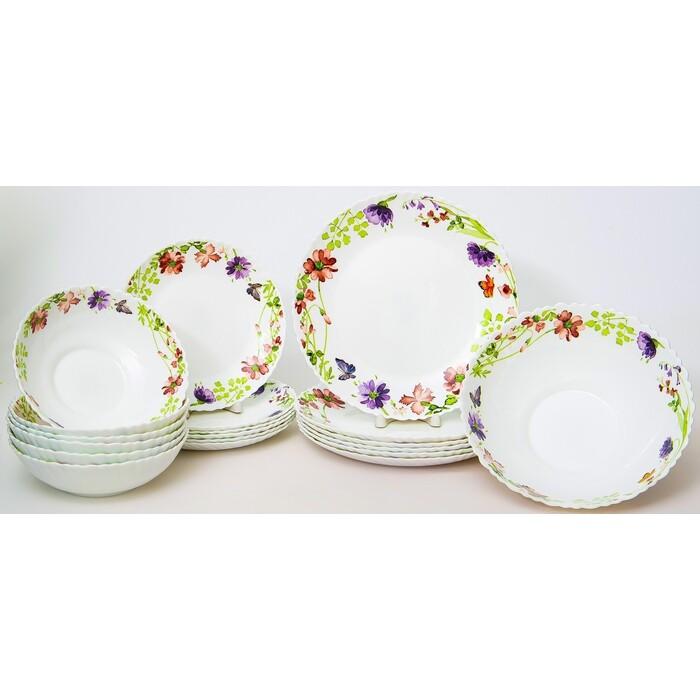 Набор столовой посуды 19 предметов Balsford АКВАРЕЛЬ (131-21023)