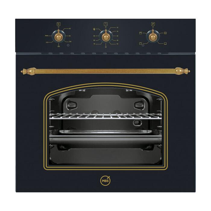 Фото - Электрический духовой шкаф MBS DE-607BL встраиваемый электрический духовой шкаф mbs de 603